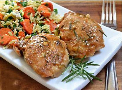 курица с тимьяном