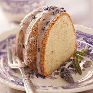 Пирог с лавандой