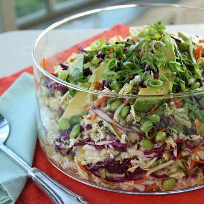 Салат с мелиссой
