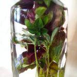 ароматизированный уксус с базиликом