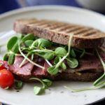 бутерброд с проростками