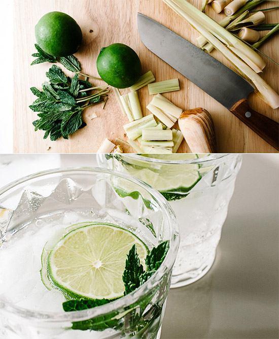 Лимонад с лемонграссом