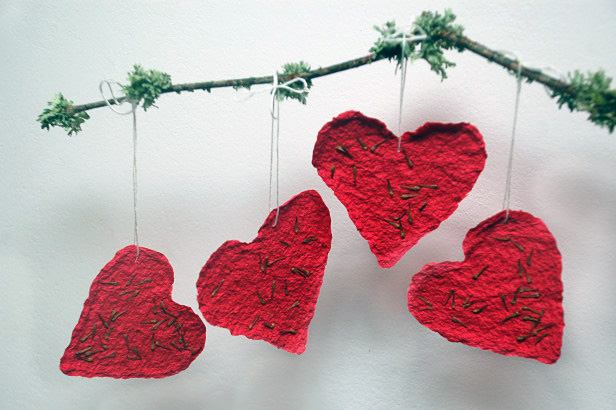 Бумажные валентинки своими руками